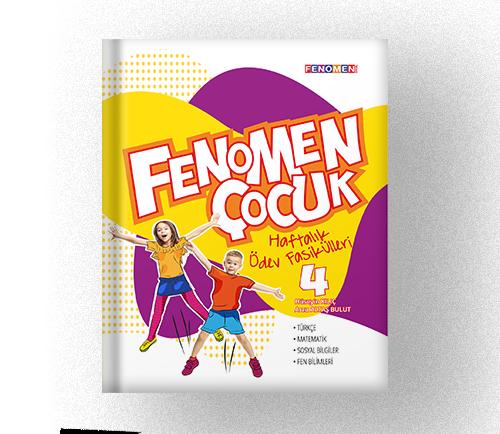 FENOMEN ÇOCUK 4 HAFTALIK ÖDEV FASİKÜLLERİ (SET KAMPANYASI)