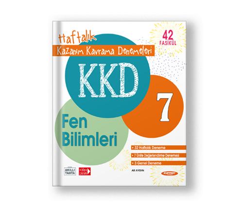 KAZANIM KAVRAMA DENEMELERİ 7 FEN BİLİMLERİ (42 FASİKÜL)