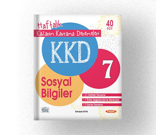 KAZANIM KAVRAMA DENEMELERİ 7 SOSYAL BİLGİLER (40 FASİKÜL)